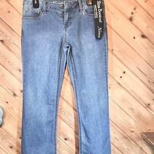 Women's Natural Reflections Jeans NWT, Bootcut, 6P